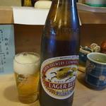 川忠 - 麒麟ビール(650円)