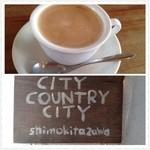23446239 - コーヒーと入口の看板