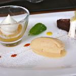 イルポッジョ - デザートも甘い優しい味で美味しいです