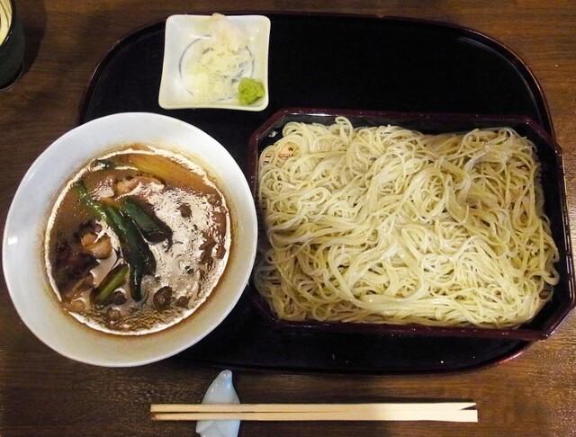 高はし - 鴨せいろ(1600円)