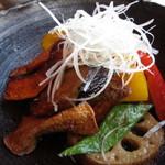 あえん - いろいろ野菜の生姜ソース