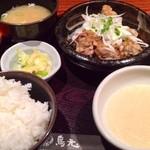 23447177 - 揚げ若鶏定食(820円)