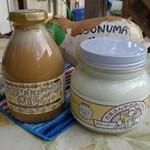 磯沼ミルクファーム - ミルクキャラメルシロップとジャージーヨーグルト