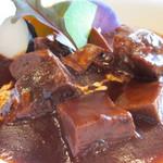 23450144 - 季節の鎌倉野菜と牛タンシチューアップ