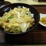 大島屋食堂 - 親子丼 450円
