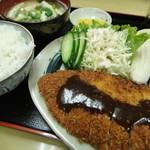 大島屋食堂 - かつ定食