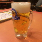 清香楼 - 生ビール