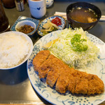 とんかつ岩松 - ロースかつ定食 1,470円
