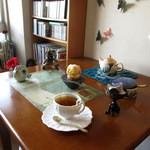 レジオン デリ&カフェ - さつまいものモンブラン