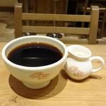 ル・パン・コティディアン - 朝食セット(1,350円+税)のコーヒー