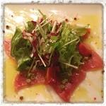 ピッツェリアマルターノ - 本日の鮮魚 マグロのカルパッチョ
