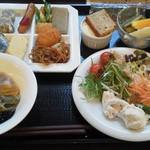 岡山グルメと珈琲 ALOALO - 朝食バイキング