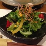 神戸牛ステーキ Ishida. - サラダもおいしい