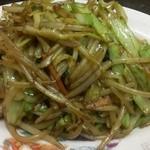 桃太楼 - 野菜炒め(500円)
