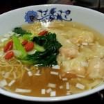 Kaorunshurou - 海老ワンタン塩味麺