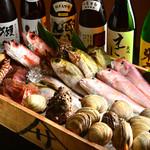 魚菜食 しゃもじや - 料理写真:地元三河湾の鮮魚を中心に美味しい魚をご用意♪