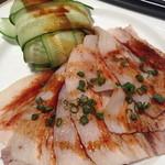 23455935 - 薄切り豚肉ときゅうりの前菜