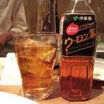キャトルラパン 神戸三宮 - ウーロン茶(笑)