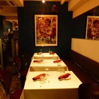 ◇全26席◇半個室も完備のオシャレな店内で優雅にお食事を♪