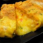 味家 - チーズ玉子焼き(1000円) タップリのチーズがたまんないです!