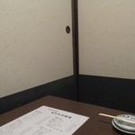 居酒屋かたつむり - 個室店内