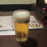 居酒屋かたつむり - 生ビール