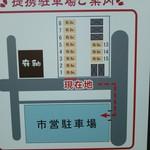 23460718 - 駐車場案内図