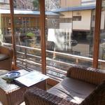 新井旅館 - 桐三の間から庭の眺め