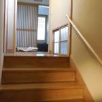 新井旅館 - 客室浴場への階段