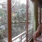 新井旅館 - 広縁反対側の眺め