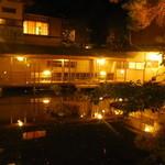 新井旅館 - 宵の帳が降りた館内