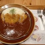 ルウとパスタ ぶどうの木 - 能登豚ロースカツカレー ¥1280