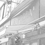 APIZZA - こんなモノトーンな雰囲気が似合う店