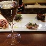 トラットリア・クラウディア - 前菜の盛り合わせ