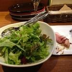 トラットリア・クラウディア - グリーンサラダ