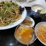 普天河 - 鶏野菜焼きそば