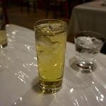 洋食 葉椰子 - ノンアルコールカクテル「サラトガクーラー」<ジンジャーエール+ライム> 500円