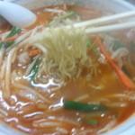 平和軒 - 極細ちぢれ麺