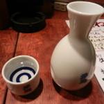 鳥八 - 日本酒(多聞・辛口)