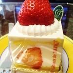 新宿高野 - あまおうのショートケーキ