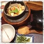 炭家米蔵 - 特選五目釜飯♬  〆のお茶漬けがまたいい♡