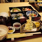 馳走庵 薮本 - 錦御膳をいただきました。(1,500円)