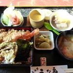 うな扇 - 料理写真:天重 ¥1155