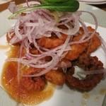 レストラン アサヒ - タコの唐揚げです。