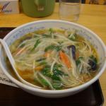 ぎょうざの満洲 - 料理写真:もやしラーメン500円