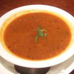 ガネーシュ - ディナーコース(2500円)のラッサムスープ