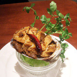 ガネーシュ - アワビの肝マサラ(1800円)