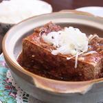 水で揚げるからあげ 白龍門 - 料理写真:揚マーボー豆腐は見た目と味に汗が止まりませんよ