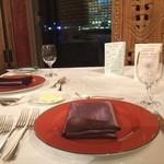 レストラン イゾラベラ - テーブルセッティング