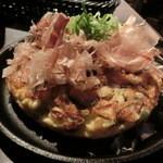 オイスターハウス ヤマト - 牡蠣のお好み焼き
